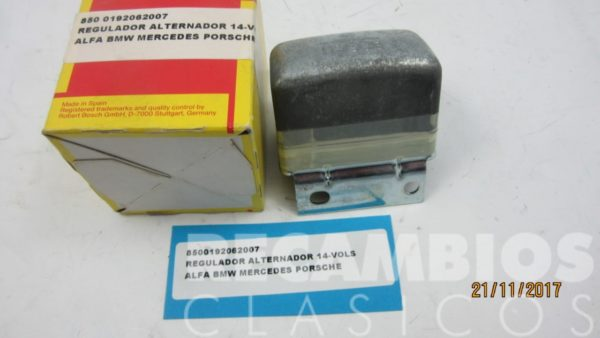 0192062007 REGULADOR ALTERNADOR 14-VOLS ALFA BMW MERCEDES PORSCHE C