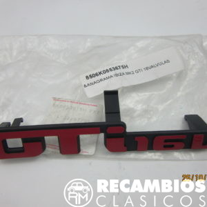 6K0853675H ANAGRAMA SEAT IBIZA MK2 GTI 16V