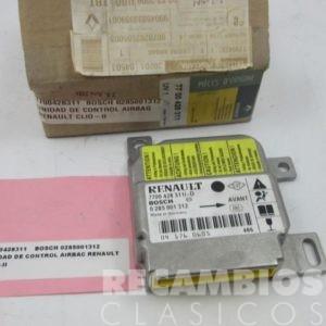 77004288311 UNIDAD DE CONTROL RENAULT CLIO-II BOSCH 0285001312