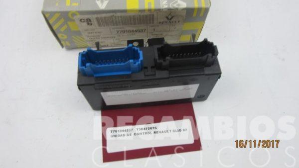 7701044537 UNIDAD DE CONTROL RENAULT CLIO 97 73847267C 2