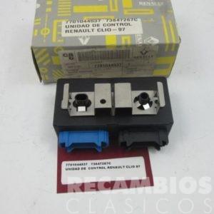 7701044537 UNIDAD DE CONTROL RENAULT CLIO 97 73847267C