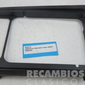 O SEAT-124 FL DERECHO PLASTICO