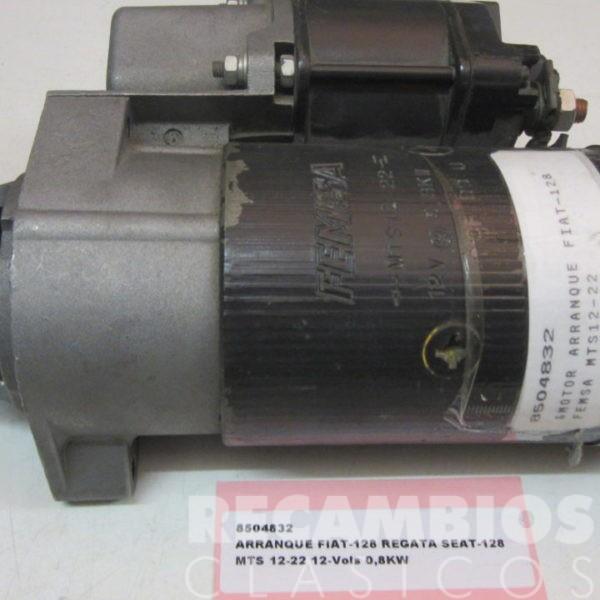 8504832 ARRANQUE FIAT-128 SEAT-128 MTS12-22 0,8KW