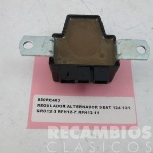 RE403 REGULADOR ALTERNADOR SEAT-124 131 FEMSA 13VOLS GRO12-3 RHF12-7 RFH12-11 nuevo)