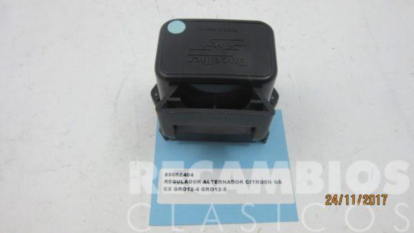 850RE404 REGULADOR ALTERNADOR CITROEN GS CX GRO12-4 GRO12-5