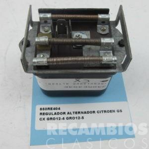 850RE404 REGULADOR ALTERNADOR CITROEN GS CX GRO12-4 GRO12-5 C