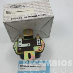 850RE406 REGULADOR ALTERNADOR RENAULT-5 GRO12X7 RFH12-11 12-VOLS (nuevo) C