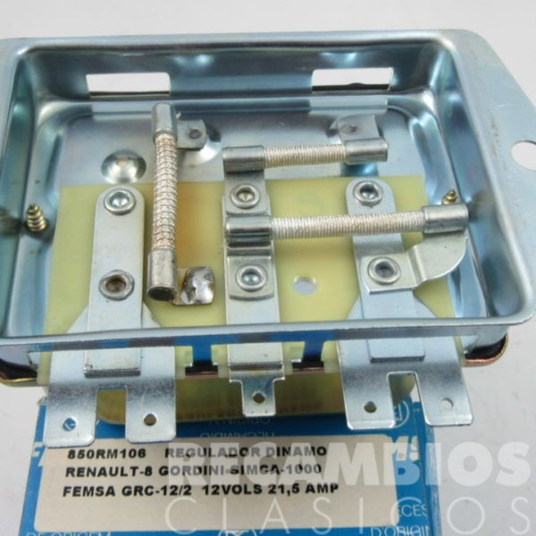 850RM106 REGULADOR DINAMO RENAULT-8 GORDINI GRC12-2 C