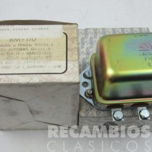 850RM110 REGULADOR DINAMO PEGASO 24VOLS 14,5 AMP GRC24-1