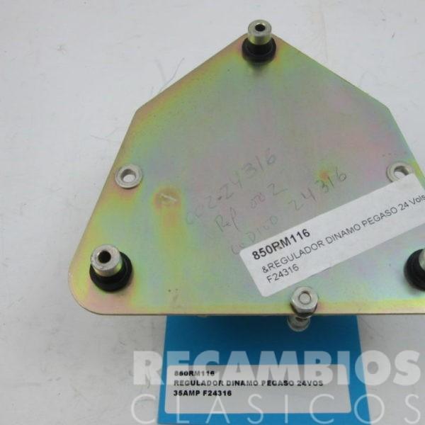 850RM116 REGULADOR DINAMO PEGASO 24VOLS 35AMP F24316 C