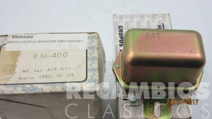 850RM400 REGULADOR ALTERNADOR EBRO MASSEY 14VOLS