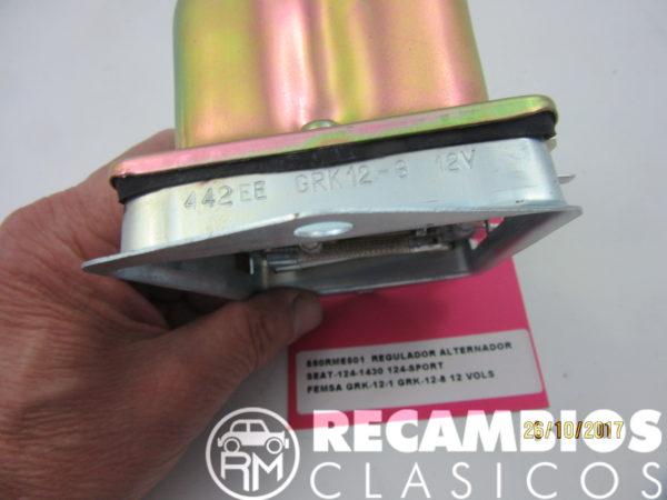 850RME501 REGULADOR ALTERNADOR SEAT124-1430 124 SPORT 132 FEMSA GRK12-11 12-8 12Vols