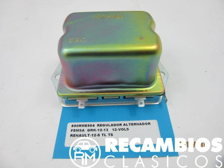 850RME504 REGULADOR ALTERNADOR RENAULT 12S TS FEMSA GRK12-13 12Vols