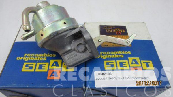 8502193 BOMBA GASOLINA SEAT-124 1.6 1.8 2.0
