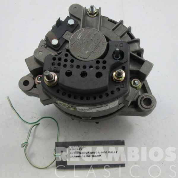 8502943 ALTERNADOR SIMCA-1000 RALLY LRA196 50AMP (2)