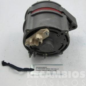 8502943LRA233 ALTERNADOR SIMCA-1000 RALLY A-13-R215 50AMP (2)