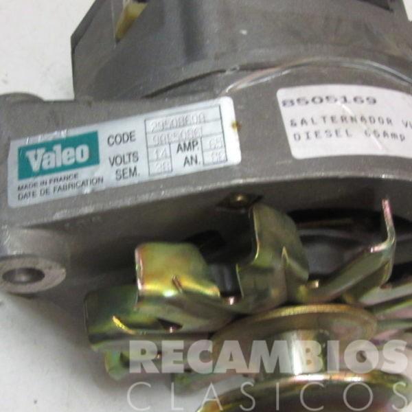 8505169 ALTERNADOR VW GOLF-II DIESEL 9AR50861 65AMP C4371 (3)