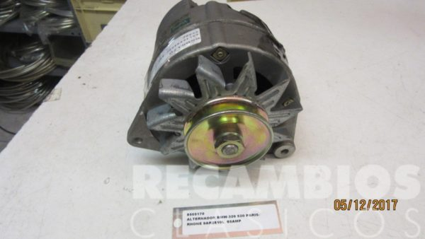 8505170 ALTERNADOR BMW -320 520 PARIS-RHONE 9AR2810L 65AMP (2)