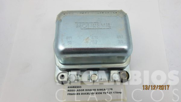 850RM203 REGULADOR DINAMO SIMCA-1000 DUCELIER 8330 (2)