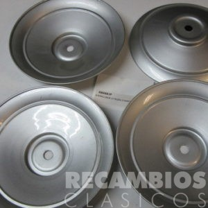 8500061P TAPACUBOS CITROEN 210mm PLATEADO JUEGO