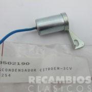 8502190 CONDENSADOR DELCO 3-CV