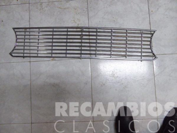 8500418 REJILLA SEAT-124 METALICA