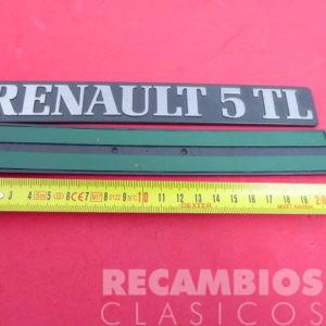 8505595A ANAGRAMA RENAULT-5TL PLA 213