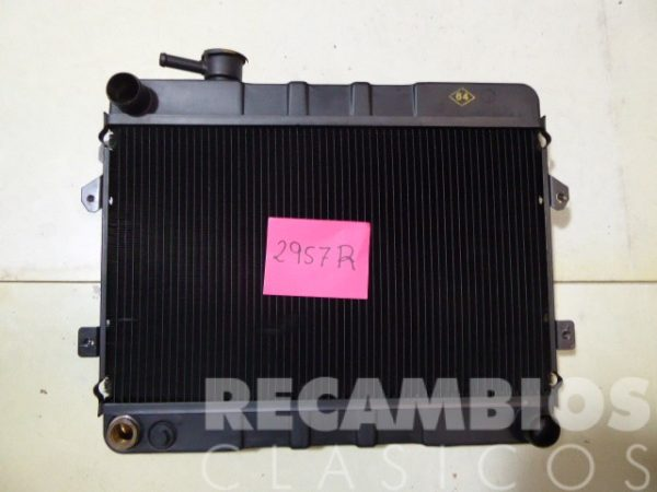 8502957R RADIADOR 124 TUBO 14mm