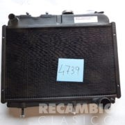 8504739 radiador renault-4 Mod 76