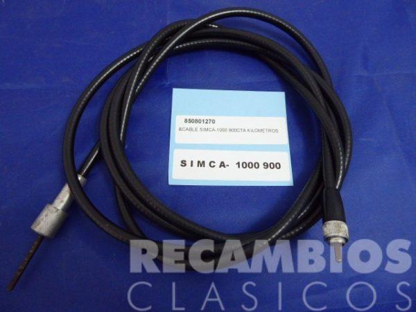 850801270 CABLE CTA KILOMETROS SIMCA-1000