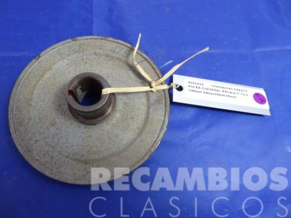 8503935 POLEA CIGUEÑAL RENAULT-12 SUPER