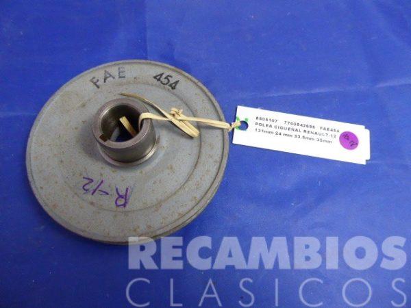 8505107 POLEA CIGUEÑAL RENAULT-12