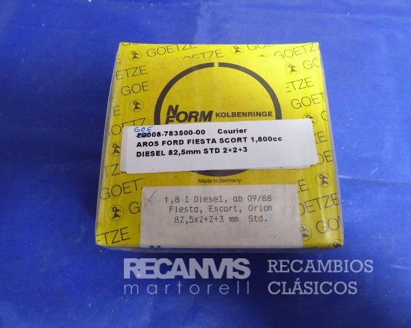 GOE00-783500-00 AROS FORD FIESTA 82,5 mm