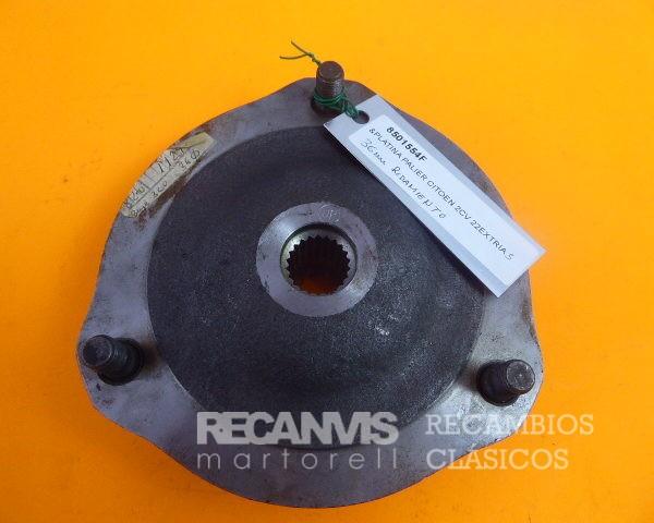 8501554F PLATINA PALIER 2CV 22 EXTRIAS