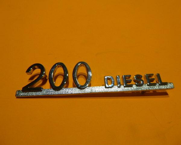 8506880 ANAGRAMA MERCEDES 200