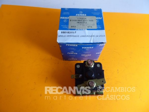 85018311-7 RELE ARRANQUE LAND-ROVER 24 Vol