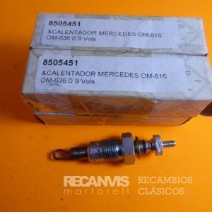 8505451 CALENTADOR MERCEDES OM636