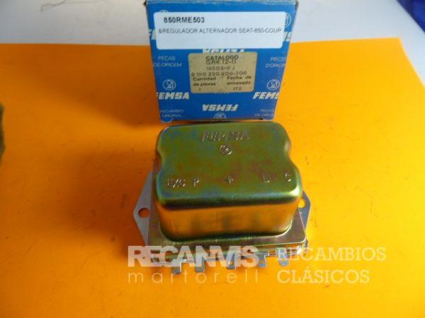 850RME503 REGULADOR ALTERNADOR SEAT-850E