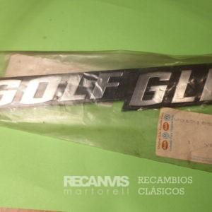 850 171853687R ANAGRAMA GOLF-GLD 210mm