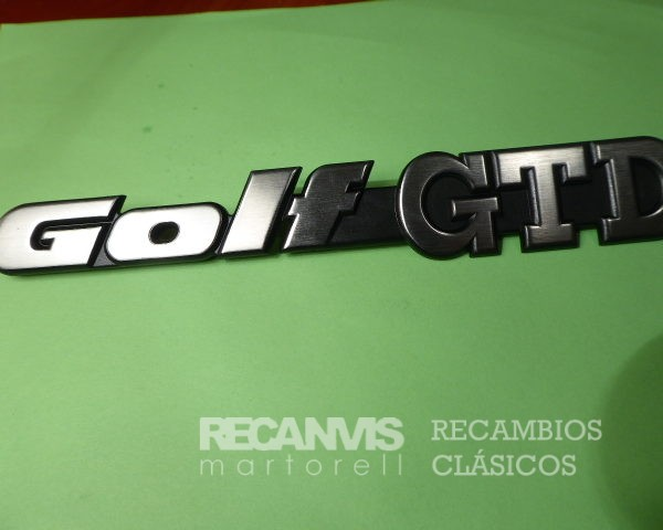 850 1H6853687D ANAGRAMA GOLF GTD 191mm