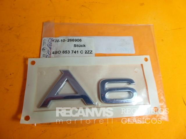 850 4B0853741C2ZZ ANAGRAMA A6 25X92