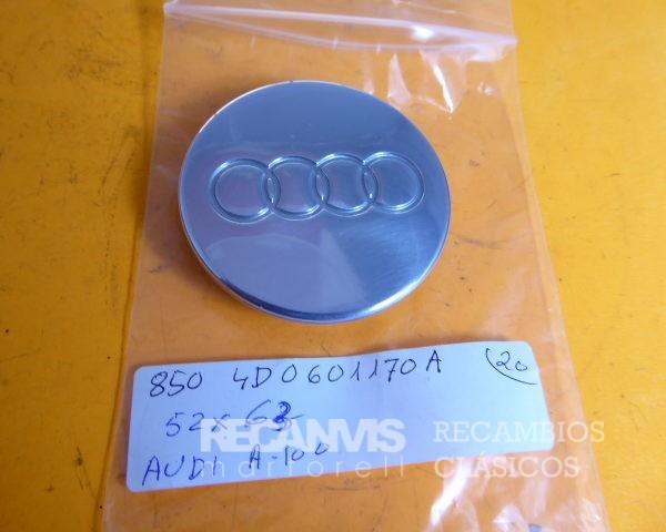 850 4D0601170A TAPACUBO LLANTA AUDI 52X63