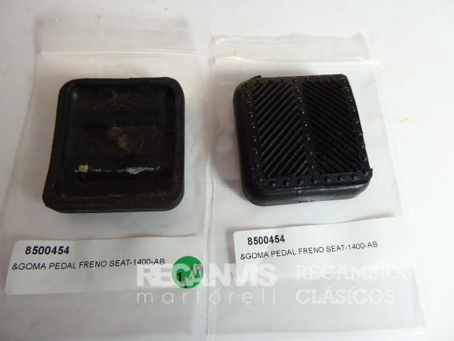 8500454 GOMA PEDAL SEAT-1400 FRENO