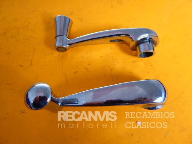 8502042 MANETA ALZACRISTA SEAT-600 Cromada