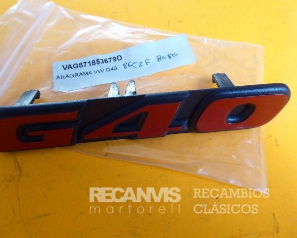VAG 871853679D ANAGRAMA VW G-40 (1)