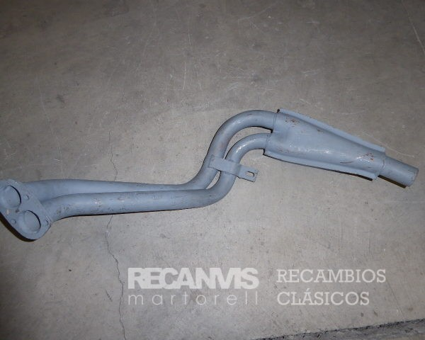 850F1039 TUBO COLECTOR SEAT-132 1.8