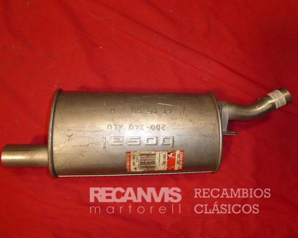 850F31128 SILENCIOSO RENAULT-5 TS T