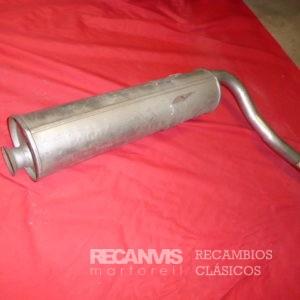 850F31339 SILENCIIOSO CX2.5 GTI TRAS
