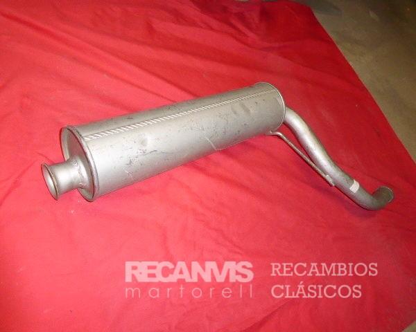 BOA135501 SILENCIOSO CX 2500 TURBO DIESEL