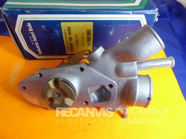 DOL N504D BOMBA AGUA PEUGEOT 504D(1)
